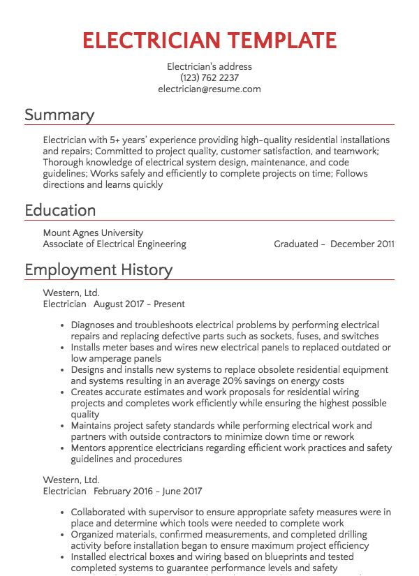 Manufacturing And Maintenance Resume Samples Resume Com