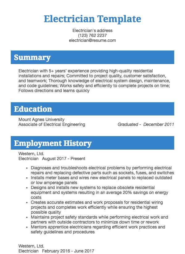 thumbnail image of manufacturing and maintenance resumes  from Resume.com