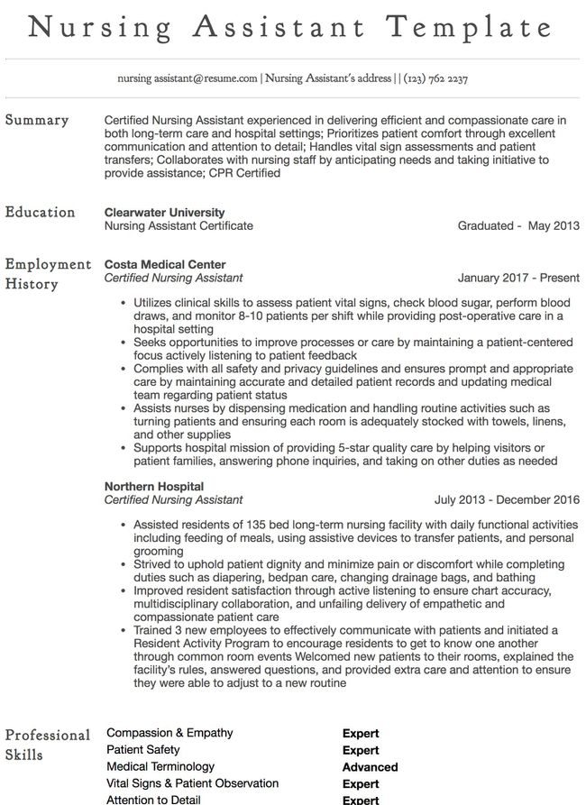 Clinical Nurse Specialist Resume Example Resume Com